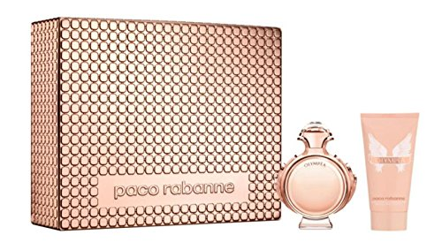 OLYMPEA by Paco Rabanne Gift Set EDP 80ML & Body Lotion 100ML MDay 2017 -