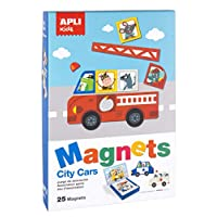 Apli kids Magnetic Set, Assorted Colour (16863)