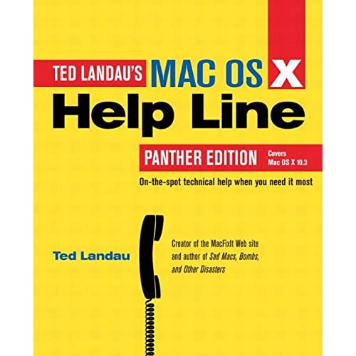 [(Mac OS X Help Line)] [By (author) Ted Landau] published on (May, 2004)