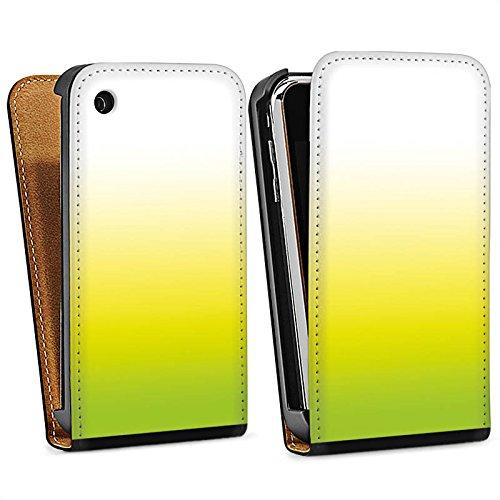 Apple iPhone 5s Housse étui coque protection Vert Jaune Blanc Sac Downflip noir