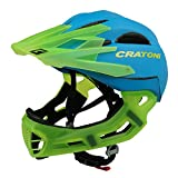 Downhill Helm Cratoni C-Maniac, blue-lucentgreen matt, Gr. S-M (52-56 cm)