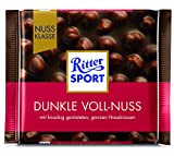 Ritter Sport Nuss Klasse Dunkle Voll-Nuss Tafelschokolade