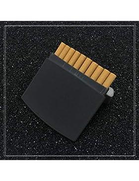 NACHEN Caja De Cigarrillo De Los Hombres De Cigarrillos Portátil Ultrafino De Acero Inoxidable Cigarrillos Cuadro...