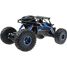 Rastreador de roca de RC de Hosim, 2.4G 4WD Escalador eléctrico RC / Conquer de la carretera de 1/18 de la escala - coche de conducción a estrenar de la manía - juguete grande para todos los tipos de terreno