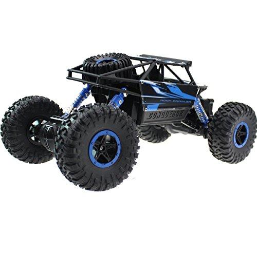 Hosim RC Rock Crawler, 2.4G 4WD Off-Road Electric RC Kletterer / Erobern 1/18 Scale High-Speed-Rennwagen - Hobby Fernbedienung Buggy - Großes Spielzeug für alle Arten von Gelände