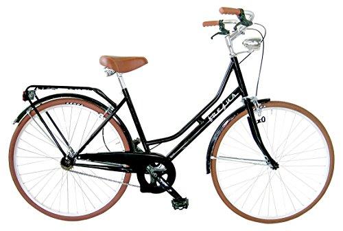 "Frejus  HTR26000.PMO Bicicletta Olanda Retro, monovelocita, 26"", Nero"