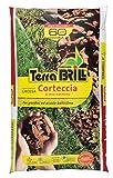 Corteza decorativa para maceteros de jardín. Grano gordos (25–40mm) en saco de 60L