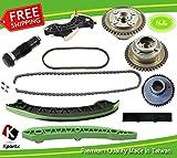 timinig Kette Kit + 2pcs Nockenwelle VVT-Gears Turbo-4Zylinder Benzin Motor