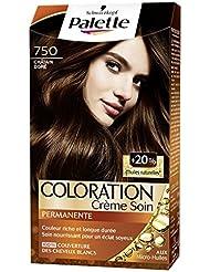 Schwarzkopf - Palette - Coloration Permanente - Châtain Doré 750