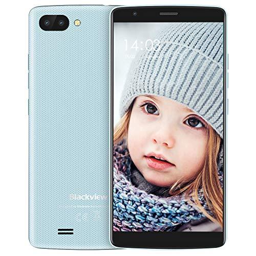 Blackview A20 - Telefono Movils Libres - Smartphone Desbloqueado - 3G Andorid Go 8GB ROM Dual SIM 5.5' Pantalla,...