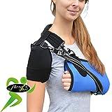 4DflexiSPORT Armschlinge, sehr bequem, keine Nackenschmerzen, hält Arm am Körper