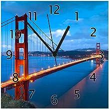 60x52cm Golden Gate Bridge San Francisco Herdabdeckplatte 1-teilig aus Glas
