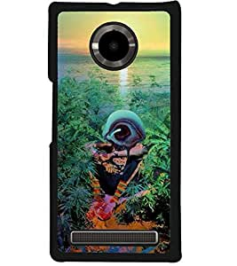 Aart Designer Luxurious Back Covers for Micromax Yuphoria + 3D F2 Screen Magnifier + 3D Video Screen Amplifier Eyes Protection Enlarged Expander by Aart Store.