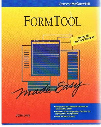 FormTool Gold Made Easy por John Levy