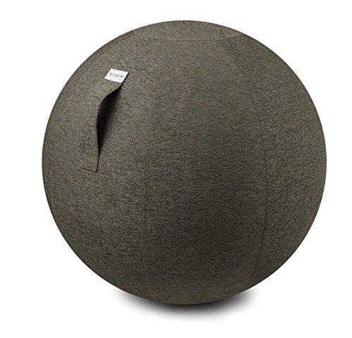 VLUV Stov Stov Tessuto Seduta Palla Diametro 60-65 cm Greige/Grigio-Marrone