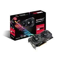 Asus ROG Strix Radeon RX 570 O4G Gaming OC Edition GDDR5, Black