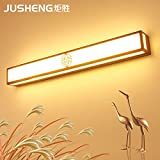 YU-K Antike Edison industrial style Wandleuchte Spiegel lampe glas Front LED Badezimmer Waschtisch LED Wandleuchte, 60cm, 24w, Farbe: Weiß