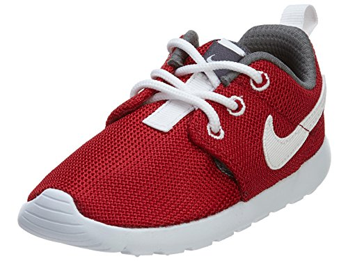 Nike Rosherun (PS/TD) mixte enfant, toile, sneaker low LGym Red/White-Dark Grey