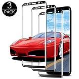 Luckyer [3 Stück] Panzerglas Schutzfolie für Samsung Galaxy S8 Gehärtetes Glas Panzerglas Displayschutzfolie für Samsung Galaxy S8 [Ultra Clear][9H Härte] [3D Touch] Anti-Öl, Kratzer