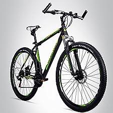 Individueller Fahrspaß garantiertEin Mountainbike in sportlichem Design, das maximalen Fahrspaß bietet und darüber hinaus über eine 21 Gang Shimano RevoShift-Schaltung am MTB-Lenker verfügt: Du hast es gefunden, dein Traum-Fahrrad! Das Bergsteiger De...
