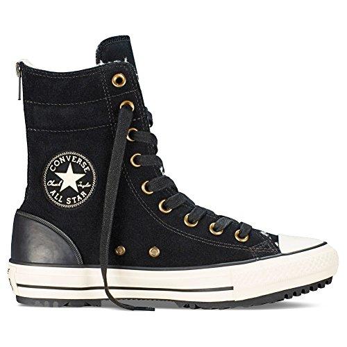 Converse Damen Stiefel Chucks Leder Schwarz 549593C CT As Hi-Rise Boot Material Black, Groesse:36.5 EU/4 UK/4 US/23 cm - Stiefel Converse