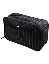 Lemish Multipurpose Cosmetic Make Up Toiletries Travel Pouch Kit Storage Bag-Multi Color