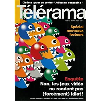 Télérama - n°2288bis - 17/11/1993 - Spécial nouveaux lecteurs / Enquête : Non, les jeux vidéo ne rendent pas (forcément) idiot !