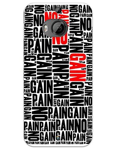 myPhoneMate No Pain No Gain Text Designer Printed Hard Matte...