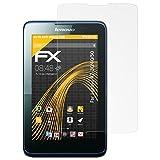 atFolix Schutzfolie für Lenovo A7-30/40/50 Displayschutzfolie - 2 x FX-Antireflex blendfreie Folie