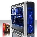 Fierce EXILE PC Gamer - Rapide 6 x 4.1GHz 6-Core AMD FX-6300, 1TB Disque dur, 8Go de 1600MHz DDR3 RAM / Mémoire, NVIDIA GeForce GTX 1050 Ti 4Go, HDMI, USB3, Wi-Fi, Parfait pour un jeu compétitif, Windows non Inclus, 3 Ans De Garantie, (426523)