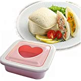 Heart Shaped Toaster Sandwich Maker Cake Cookies Bread Cutter
