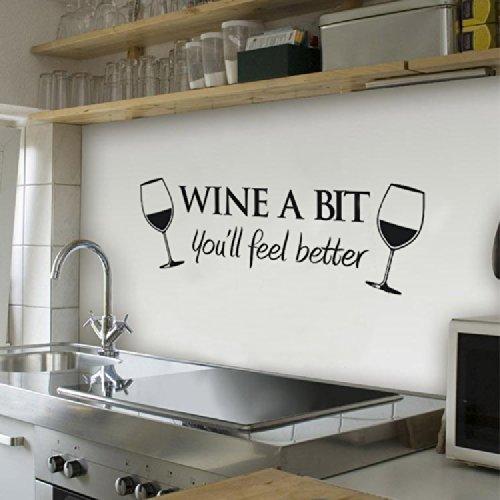 wine-a-bit-vinyle-art-mur-citer-autocollant-manger-cuisine-amovible-decalques