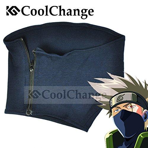 CoolChange Naruto Gesichts Maske von Kakashi (Cosplay Minato Kostüm)