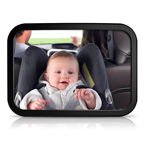 Chollo espejo retrovisor para vigilar al beb en el coche for Espejo retrovisor coche bebe
