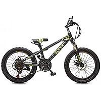 Zonix Vélo Garçons Filles VTT 20 Pouces 21 Vitesse Noir Verte 85% Assemblé 5d946bc80f85