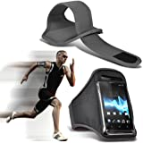 ( Grey ) Samsung I9300I Galaxy S3 Neo Sports Lauf Jogging Ridding Bike Cycling Gym Arm-Band-Kasten-Beutel-Abdeckung von ONX3