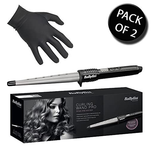 curling wand - 510ItjcLthL - 2x BaByliss 2285CU Curling Wand
