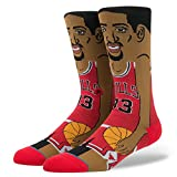 Best Sock Marchi - Stance NBA Legends Socks Scottie Pippen - Red-Large Review
