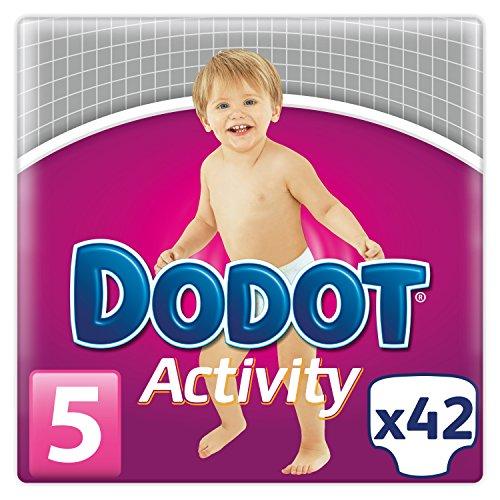 Activity Dodot pannolini, taglia: 5, per bambini di 11-17 kg-Pannolini 42