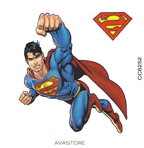 Temporäre Tätowierungen super-man Super Helden-Tattoo flüchtig super-man Super Helden-MTB 1Tattoo-avastore