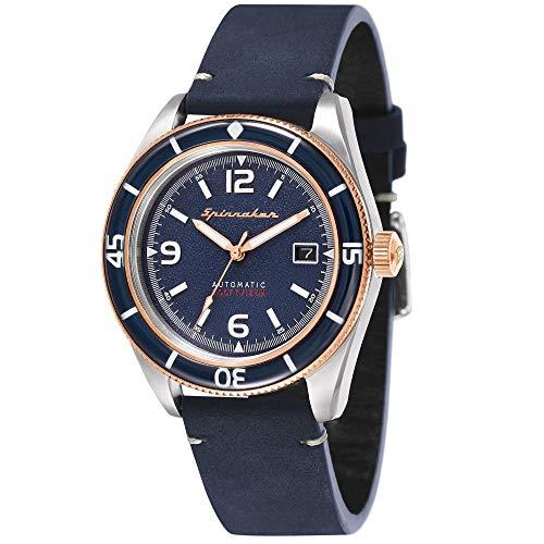 Spinnaker Homme Uhr Analogique QUARTZ mit Métal Armband SP-5055-04