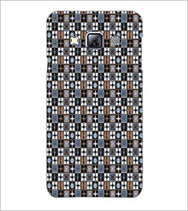 PrintDhaba Pattern D-5339 Back Case Cover for SAMSUNG GALAXY A3 (Multi-Coloured)
