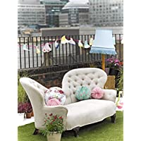Talking Tables Truly Scrumptious, Tea Party Decorations Floral Paper Lanterns, Pastel Colours, 3 Sizes, Pack of 3