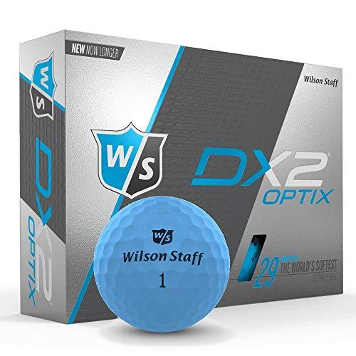 Wilson Staff 2019 Balles de Golf DX2 Optix Mat pour Homme...