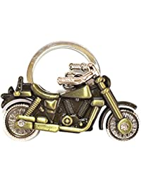 Chronowares 3D Motorcycle Cruiser Bike Keychain Key Ring Chain Motor Keyring Zinc Alloy Metal