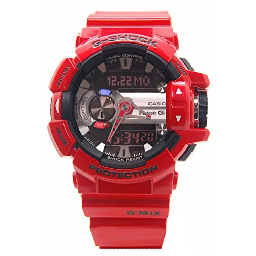 4a Serie (Casio G-Shock GBA400-4A Classic Series Stylish Watch - Red/Black / One Size)