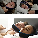 #4: AVB New Anti Snore Chin Strap - Best Health Care Stop Snoring Chin Strap, Sleep Now Snore Solutions Device - Snore Stopper Relief Guard - Sleep Aid Jaw Strap Reduces Snoring - Allows a Restful Night's Sleep - Comfortably Prevents Snoring - Voted Best Device on the Market (Color Blue and Green)