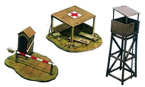 Italeri 510006130 - 1:72 Schlachtfeld-Gebäude