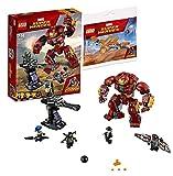 Marvel Lego Super Heroes 76104 - Zerstörung des Hulkbuster + Lego Polybag 30525 The Guardians
