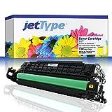 jetType Toner ersetzt HP CE252A / 504A für Color Laserjet CP3525 / CP3525dn / CP3525x / CP3525n, gelb, 7.000 Seiten